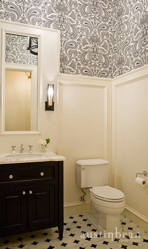 wainscoting bathroom tile 61 best images about small bathroom project on pinterest