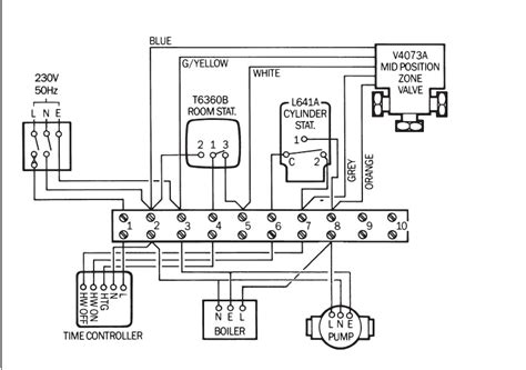 honeywell zone valve v8043e1012 inside wiring diagram techunick biz