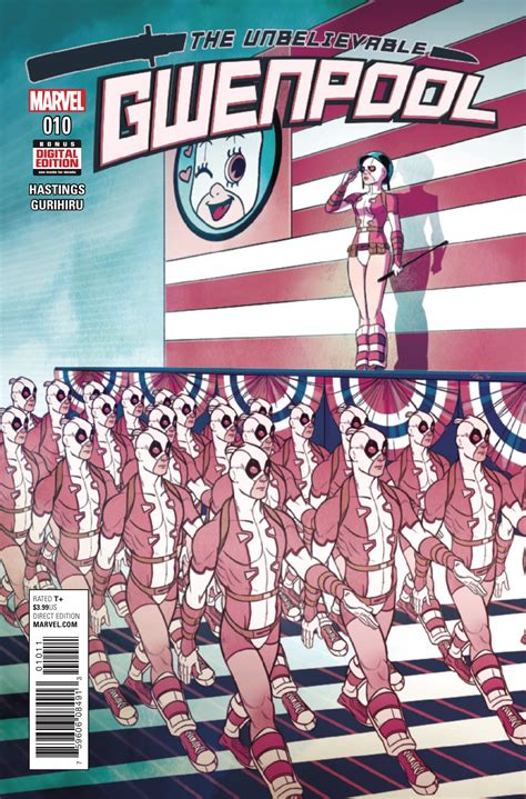 defenders vol 1 diamonds are forever marvel preview the gwenpool 10 aipt