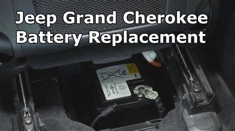 Jeep Battery Replacement Jeep Grand Battery Replacement The Battery Shop