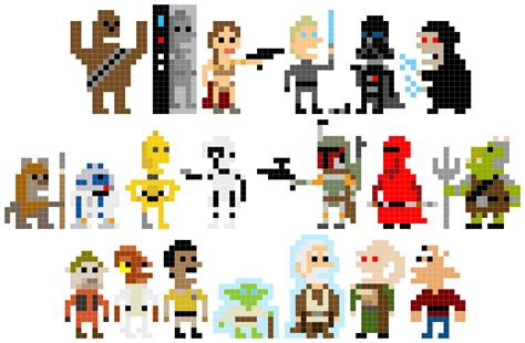 Pixel Wars | pixel star wars welcome back to the 8 bit days bit rebels