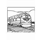 Dibujo Para Colorear Tren  Img 10975