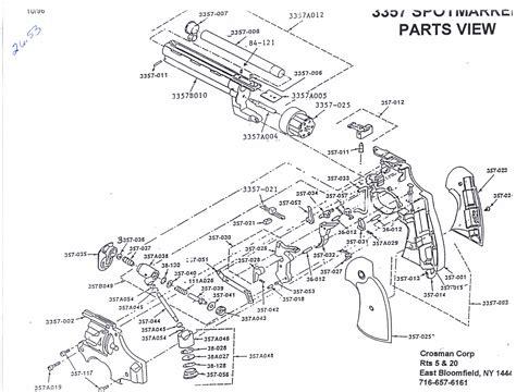 bb gun parts diagram crosman pellet guns parts diagram pictures to pin on
