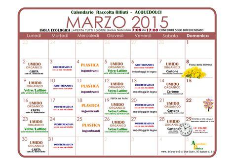 Piazza Calendario 5 Acquedolci Calendario Della Raccolta Dei Rifiuti Per Il