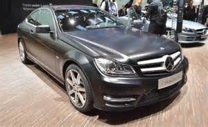 Mercedes C330 2012 Mercedes C Class Coupe Revealed News Car And