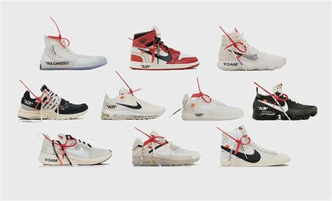list of raffles for white x nike the ten collection upcoming sneaker releases the