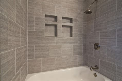 Grey Bathroom Tiles Ideas Adorable Gray Tile Bathroom Ideas With Clean Finish Home And Dining Room Decoration Ideas