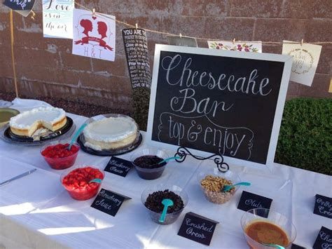cheesecake toppings bar best 25 wedding cheesecake ideas on pinterest