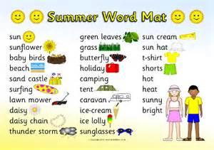 summer word mat sb11763 sparklebox