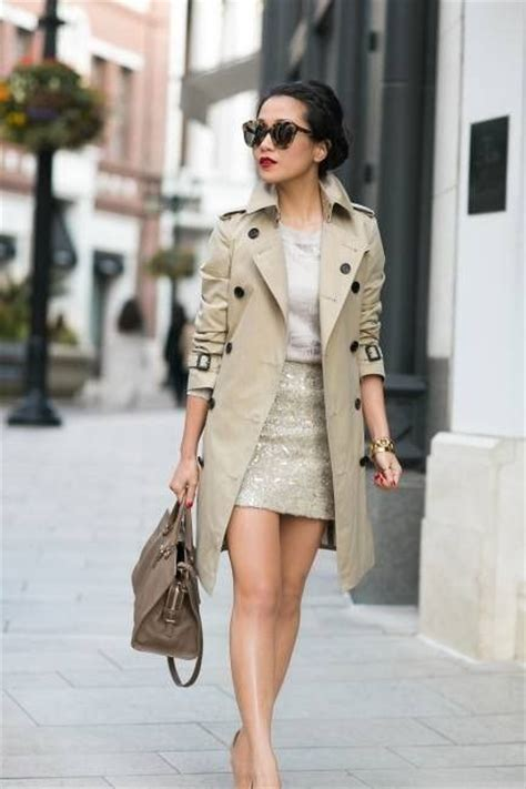 Style Ideas How To Work The Metallic Trench This Second City Style Fashion by How Do You Like Your Trench Coat Fashion Tag