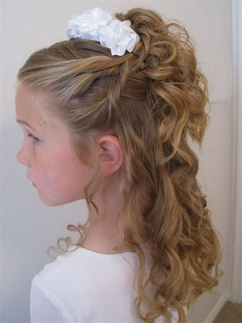 bridal hairstyles for children best 20 kids wedding hairstyles ideas on pinterest