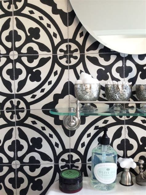 How to Get the Look of Patterned Cement and Encaustic Tile