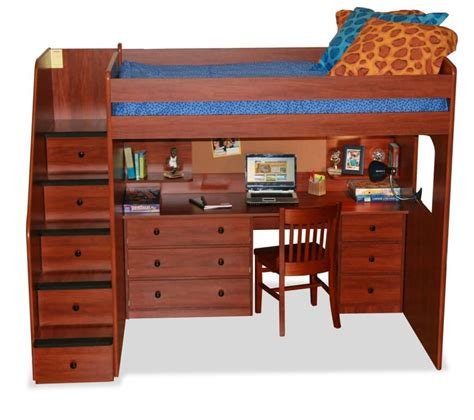 bunk beds with stairs and desk 25 awesome bunk beds with desks for