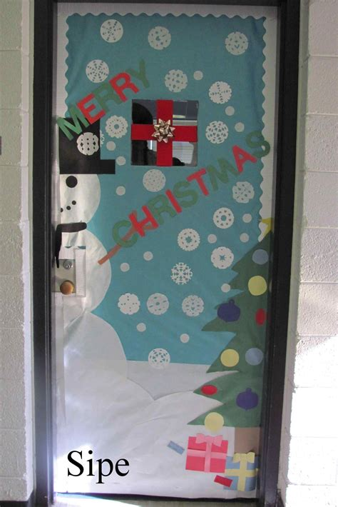 apartment door christmas decorating contest ideas math door decorations globe st grade bulletin board outstanding