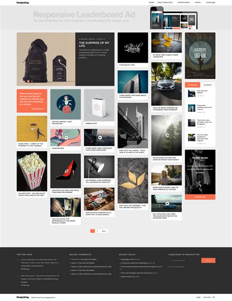 home decor blogs wordpress design blog a minimal and creative blog theme for