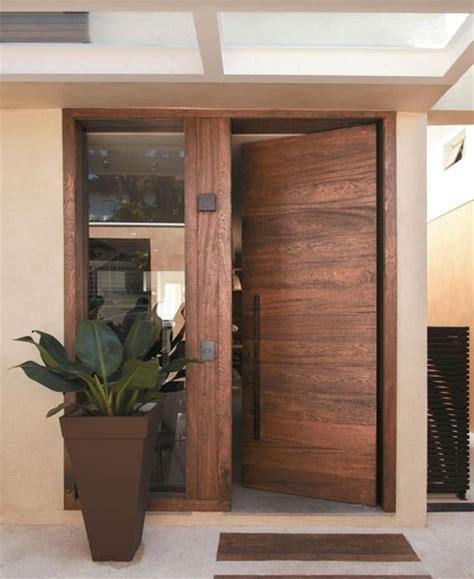 Wood Front Doors Metallic Or Wooden Front Door Which One Do You Prefer