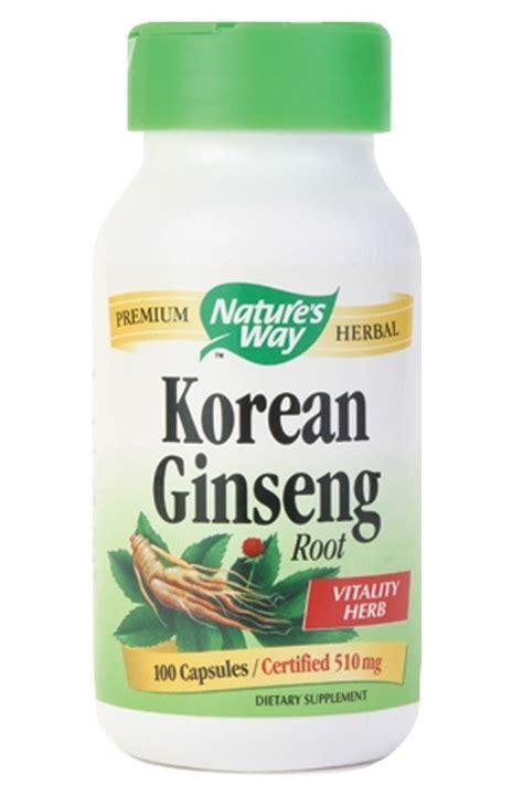Ginseng Korea korean ginseng 500 mg tnvitamins