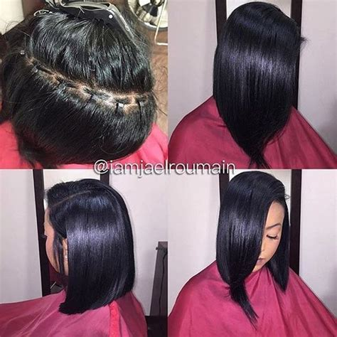 sew in hair gallery killing that braidless sew in game 4 pics http
