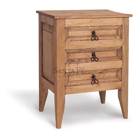 high nightstand 3dr high nightstand santa fe rustic