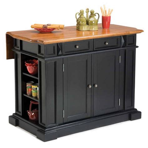 kitchen island with leaf kitchen island with drop leaf in black and distressed oak