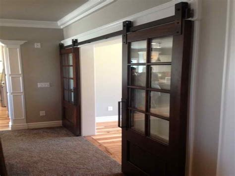 Interior Barn Doors For Homes Large Custom Interior Barn Doors Home Interior Design