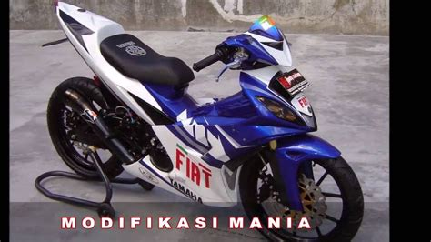 Modif Jupiter Mx Jadi Trail by 81 Modifikasi Motor Trail Jupiter Mx Modifikasi Trail