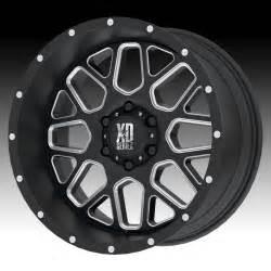 Kmc Xd Truck Wheels Kmc Xd Series Xd820 Grenade Satin Black Milled Custom