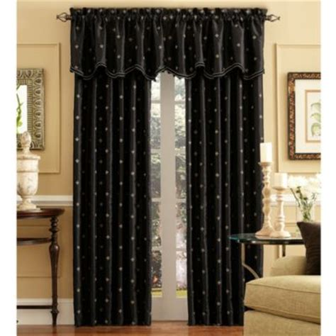 Black Valance Curtains Buy Black Valance Curtains From Bed Bath Beyond