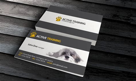 pet grooming business cards templates grooming business card template 187 free