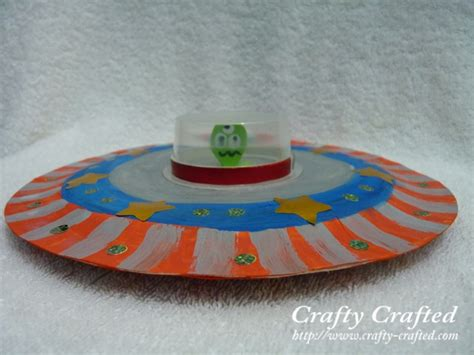How To Make A Paper Ufo - crafty crafted 187 archive crafts for children
