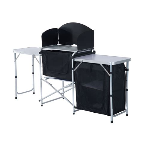 Folding Table For Kitchen 6 Portable Fold Up C Kitchen With Windscreen