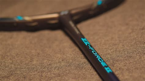 yonex voltric  force ii unboxing youtube