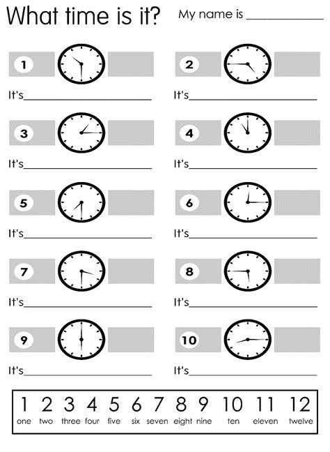 free elapsed time worksheets exercise printable shelter