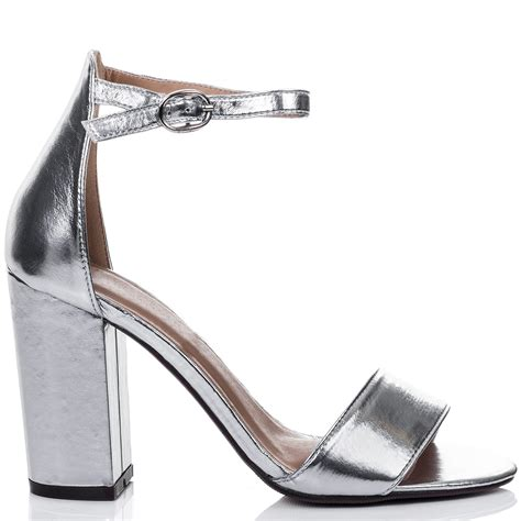 Silver Shoes by Citrus Silver Sandals Shoes From Spylovebuy