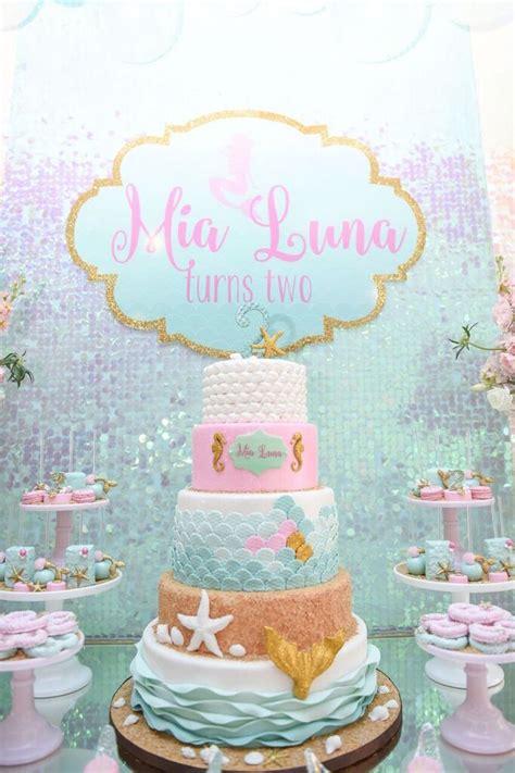 Kara's Party Ideas Mermaid Oasis Themed Birthday Party   Kara's Party Ideas