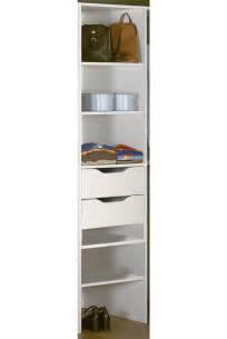 tiroir de rangement blanc pour colonne escape dressing