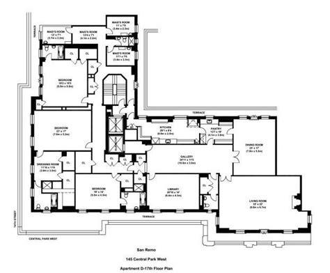 san remo floor plans 17 best images about planos de arquitectura on 432 park avenue mansion floor plans