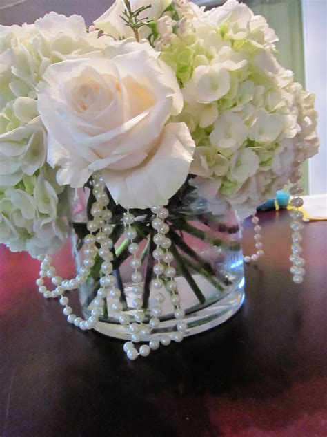pearl wedding centerpieces inspiration centerpieces with pearls inspiration