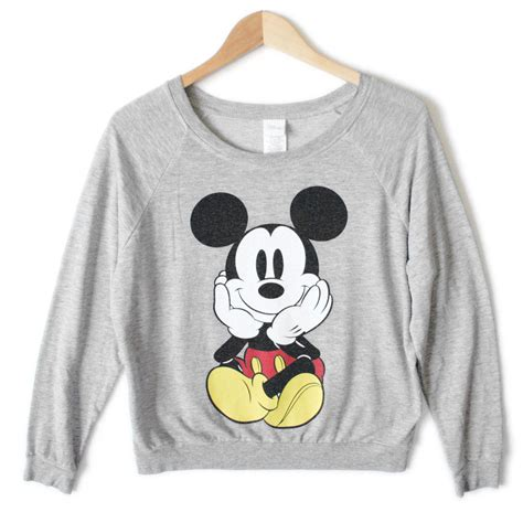 Sweater Mickey Mouse disney mickey mouse front back sweatshirt style shirt