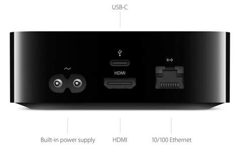 apple tv  usb   service ditches optical audio