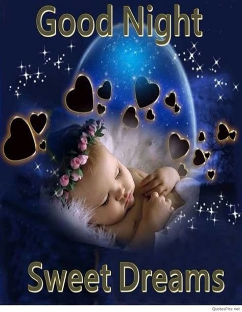 good night baby images pics quotes   wallpaper