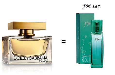 Parfum Fm 195 Dolce Gabbana The One For Original Import Eropa i fm perfumes fm 147 perfume for