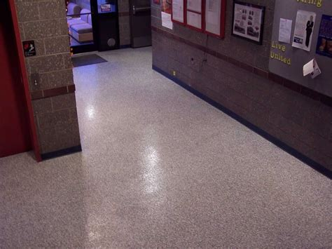school education commercial concrete flooring epoxy repair