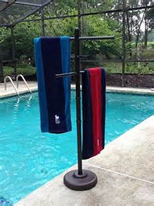 outdoor l company outdoor spa and pool towel rack