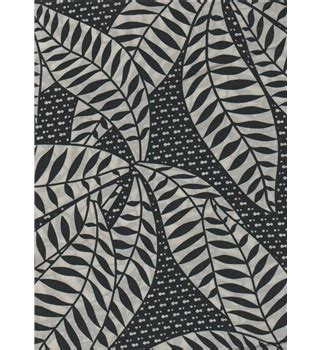 black and white leaf pattern dress dress fabric remnant black and white leaf pattern 2 6m
