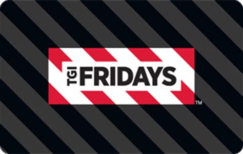 Tgif Gift Card Discount - buy tgi fridays gift cards discounts up to 35 cardcash