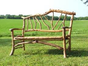 Hockey Stick Chair Rustic Twig Furniture Natural Building Blog