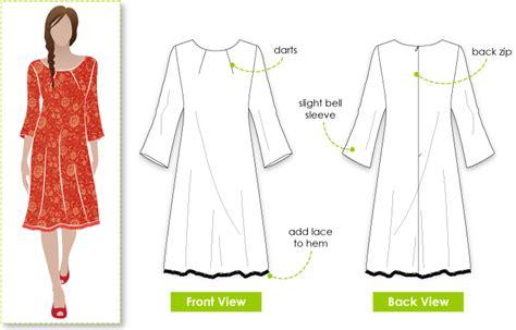 pattern review style arc stylearc lara dress