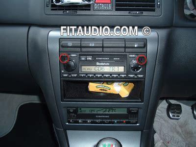 skoda octavia stereo car stereo fitting car stereo removal remove car