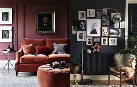 arredare pareti arredare casa con pareti scure